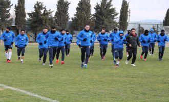 Akhisar Belediyespor, Galatasaray maçı hazırlıklarını tamamladı