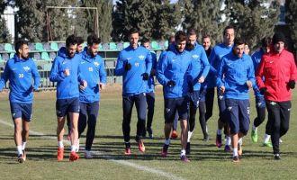 Akhisar Belediyespor, kupa maçı hazırlıklarını 1 günde tamamladı