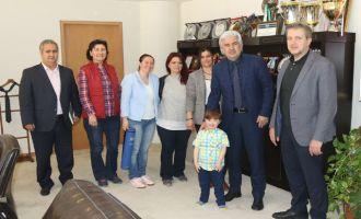 Akhisar Down Sendromu Derneğinden, Belediye Başkanı Salih Hızlı'ya teşekkür