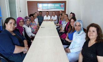 Akhisar Eğitim Bir-Sen'de kadın komisyonu yenilendi