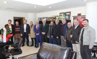 Akhisar Erzurumlular Derneğinden, Belediye Başkanına ziyaret