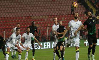 Akhisar evinde Fenerbahçe'ye 3-1 mağlup oldu