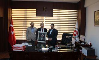 Akhisar Halk Eğitimi Merkezi Müdürlüğünden Cumhuriyet Başsavcısı Akbulut'a Ziyaret