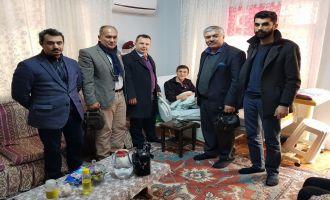 Akhisar MYO'dan Afrin Gazisine Ziyaret