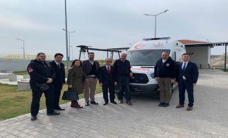 Akhisar Organize Sanayi'den Ambulans Bağışı