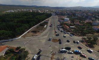Akhisar ring yolu Büyükşehir'le can buldu