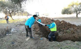 Akhisar Sanayi Sitesi'nin içme suyu hattı MASKİ'den