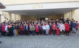 Akhisar Ticaret Odası İlkokulu 3.sınıf öğrencileri şehrini keşfetti