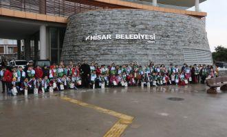 Akhisar Ticaret Odası İlkokulu 4.sınıf öğrencileri şehrini keşfetti