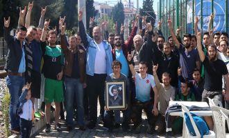 Akhisar Ülkü Ocakları Gençleri halı saha turnuvasında buluştu