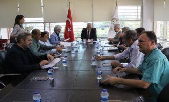 Akhisar Zeytin İhtisas OSB Müteşebbis Heyeti 8 gündem maddesi için toplandı