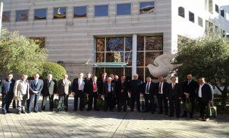 Akhisar Zeytin İhtisas OSB Müteşebbis heyeti İspanya'da zeytin üretimini inceledi