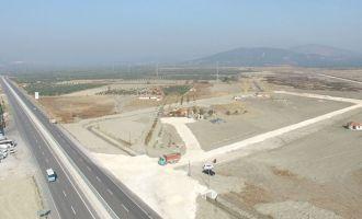 Akhisar Zeytin İhtisas OSB'de alt yapı hızla ilerliyor