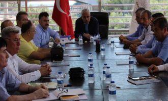 Akhisar Zeytin OSB'de alt yapı ihalesi yapıldı