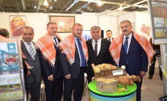 Akhisar Ziraat Odası 850 çiftçisi ile İzmir Tarım Fuarında