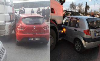 Akhisar'da 2 saat arayla iki aynı kaza