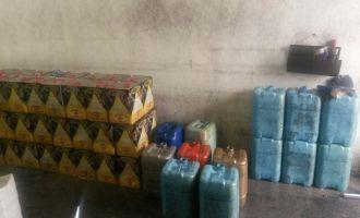 Akhisar'da akaryakıt kaçakçılığı; 7 bin litre akaryakıt ele geçirildi