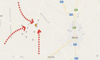 Akhisar'da artarda 3 deprem