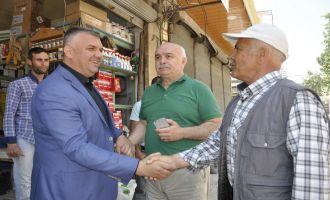 Akhisar'da Esnafı Sevindiren Hizmet