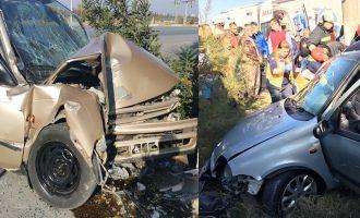 Akhisar'da feci kaza 1'i ağır 2 yaralı