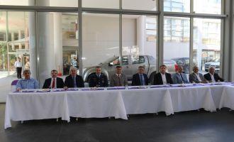 Akhisar'da kurban bayramı bayramlaşma programı yapıldı