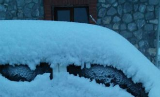 Akhisar'da okullara kısmi kar tatili!