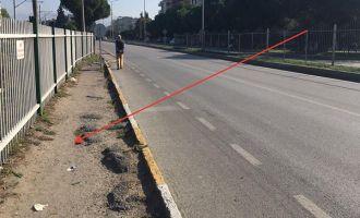 Akhisar'da otobüs çarpan yaya hayatını kaybetti