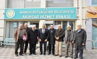 Akhisarlı Başkanlardan hizmet binasına ziyaret