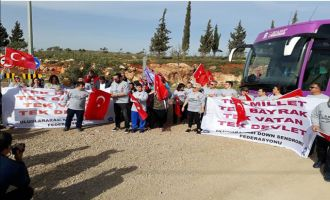 Akhisarlı Down sendromlu çocuklardan Mehmetçiğe destek