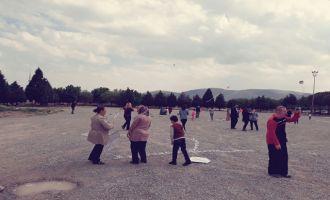 Akhisarlı özel çocuklar hayallerini uçurtmalarla gökyüzüne taşıdı