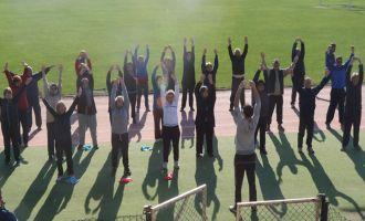 Akhisarlılar doğru ellerden egzersiz hareketlerini öğrendi