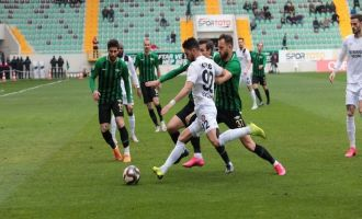 Akhisarspor; 0 - Fatih Karagümrük; 2