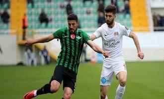 Akhisarspor: 1 - Antalyaspor: 2
