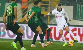 Akhisarspor; 1 - Beşiktaş; 3