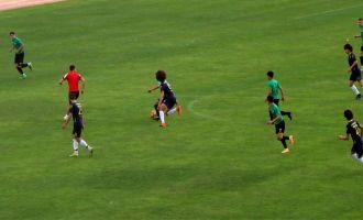 Akhisarspor ile Manisa Spor Lisesi hazırlık maçında buluştu