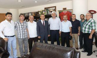 Akhisarspor Taraftarlar Derneğinden, Belediye Başkanı Salih Hızlı'ya ziyaret