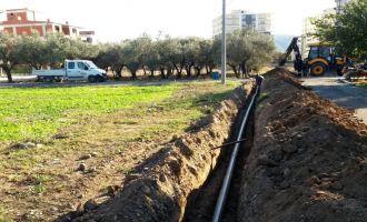 Atatürk Mahallesi'ne İçme Suyu Hattı Döşendi
