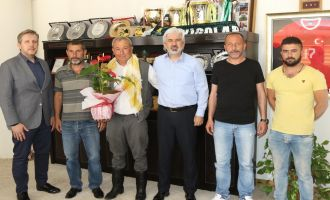 Atçı Dostları Derneğin'den Akhisar Belediye Başkanı Salih Hızlı'ya teşekkür