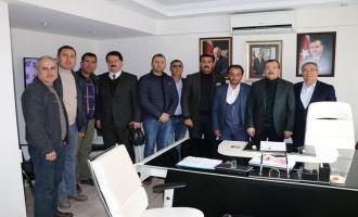 ATSO Başkan Adayı Boşnak ve Ekibinden Uğur Aydemir'e Ziyaret