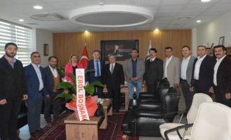 ATSO Başkan Adayı Boşnak'tan Engin Pınar'a
