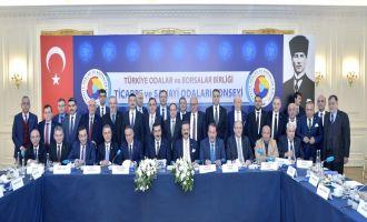 ATSO Başkanı Yılmaz Ticaret ve Sanayi Odaları Konsey Toplantısına Katıldı