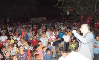 Bakırlıoğlu'na Hacı İshak Mahallesi'nde Yoğun İlgi