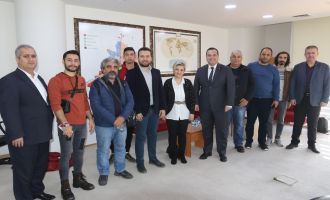 Başkan Besim Dutlulu, gazetecilerle buluştu