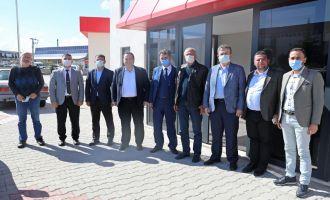 Başkan Besim Dutlulu'dan OSB'ye ziyaret