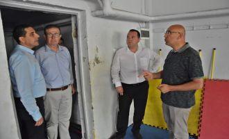 Başkan Dutlulu, Belediyenin Hizmet Binalarında İncelemelerde Bulundu