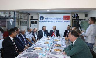 Başkan Ergün Balkan Göçmenleriyle buluştu