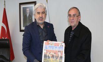 Belediye Başkanı Salih Hızlı, Makedonya'nın selamını aldı