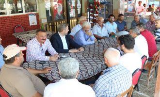 Belediye Başkanı Salih Hızlı'dan Sazoba Mahallesine ziyaret