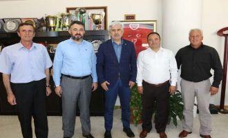 Belediye-İş'ten Akhisar Belediye Başkanı Salih Hızlı'ya ziyaret