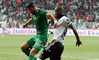 Beşiktaş; 2 - Akhisarspor; 1